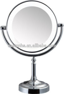 Desktop Double Sided Magnifying Mirror with Lights pictures & photos