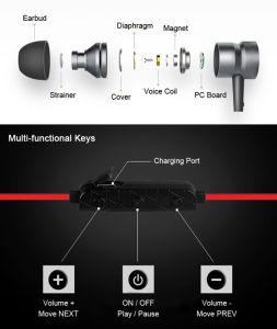 V4.1 Waterproof & Sweatproof Studio DJ Quality Sport Bluetooth Earphone Bluetooth pictures & photos