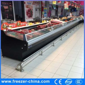 Meat Shop Meat Serveover Displays Cabinet pictures & photos