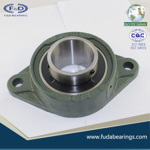 UCFL215 Chrome Steel Grey Cast Iron Housing Pillow Block Bearing for Agricultural Machinery pictures & photos