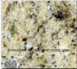 Giallo Ornamental Granite Slabs for Countertops and Tiles pictures & photos