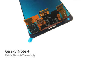 Mobile Phone Spare Parts LCD Touch Screen for Samsung Note4 pictures & photos