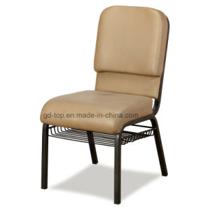 Foshan Factory Comfortable Stackable Metal Church Chairs for Chuch pictures & photos
