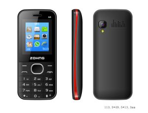 New Cheap Low Cost Factory Feature Phone GSM Dual SIM Senior Bar Phone A6 pictures & photos