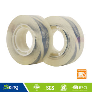 Crystal Clear Water Based Acrylic Glue BOPP Stationery Tape pictures & photos