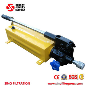 Small Size Manual Hydraulic Filter Press with Plate and Frame Filter Plate pictures & photos