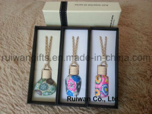 Perfume Glass Bottels for Hanging Air Freshener, Car Fresheners Wood, Manufacturer Air Freshener pictures & photos