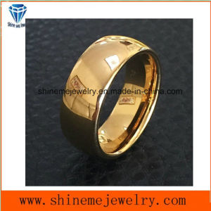 Shineme Jewelry High Quality Gold Plated Jewelry Tungsten Ring (TST2838) pictures & photos