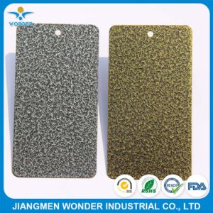 Electrostatic Pure Polyester Hammer Tone Spray Powder Coating pictures & photos