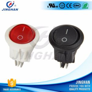 Dia 20mm 4pin on-off Round Rocker Switch Apply to Extension Cords pictures & photos