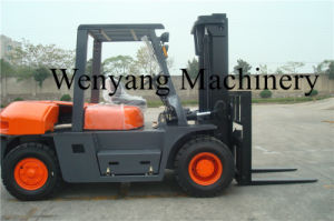 8ton Isuzu Engine Ce Certificate Hydraulic Powered Diesel Forklift Truck pictures & photos