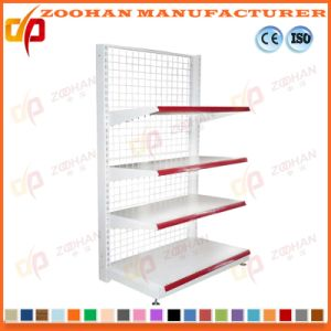 Fashion Supermarket Single Side Retail Punched Back Wall Display Shelves (Zhs547) pictures & photos