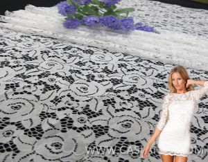 2014 New Arrival Fancy Fashion Lace Fabric for Lace Dress (LCA75065) pictures & photos