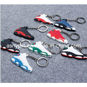 Rubber Soft PVC Sneaker Shoes Key Chains pictures & photos
