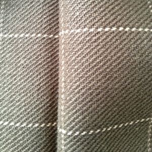 Hemp Yarn-Dyed Thick Plaid Fabric (QF13-0108) pictures & photos