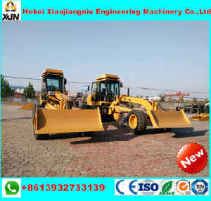 130HP Xjn Brand Hydraulic Motor Grader with Front Dozer and Rear Ripper pictures & photos