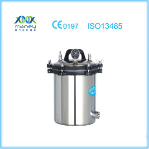 Portable Autoclave Electric or LPG Heated Pressure Steam Autoclave (YX-18LM/24LM) pictures & photos
