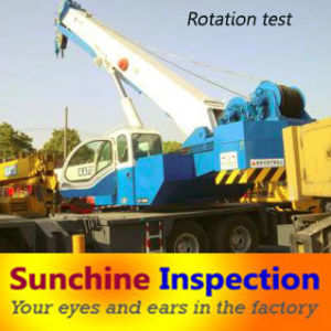Crane Pre-Shipment Inspection / Machine Inspection Service Available in All China pictures & photos