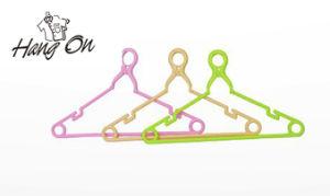Non-Slip Plastic Coat Hanger for Clothes