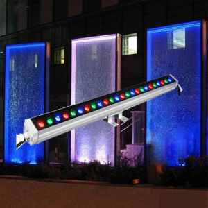 DMX Auto Waterproof LED Wall Washer Linear Bar Lighting