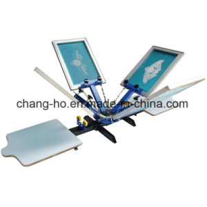 4 Color Garment Screen Printing Table pictures & photos
