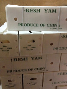 Chinese Fresh Yam for Exporting (Dia: 2-3cm) pictures & photos