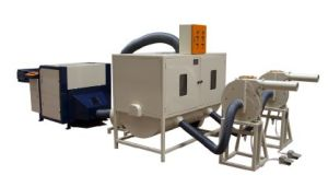 Fiber Carding/Cushion Filling Machine (AV-909C)