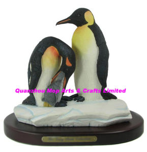 Polyresin Penguin Figure Gifts, Resin Penguin Statue pictures & photos