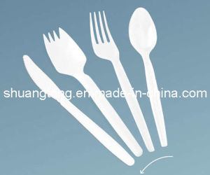 Plastic Cutlery 2.2g Spoon Knife Fork pictures & photos