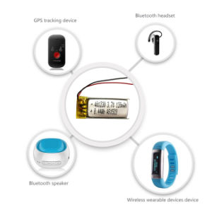 Ultra Small Lithium Polymer Battery 603040 3.7V 750mAh for Bluetooth Headset pictures & photos