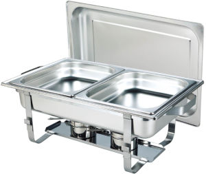 9L Economic Stainless Steel Chafing Dish (CD002) pictures & photos