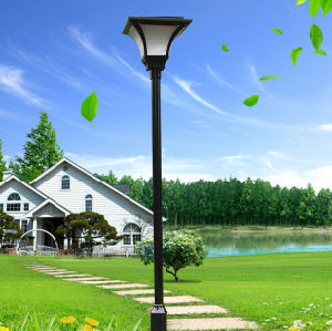Fashion Design Yardshow 8W Solar Garden Outdoor Solar Lamp pictures & photos