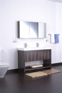 Customizable Solid Wood Marble Top Bathroom Cabinet Bathroom Vanity