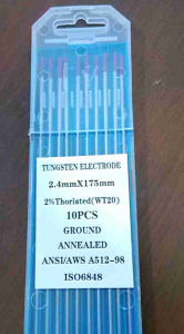 Wt20 Ground Finish Wolfram Tungsten Electrodes pictures & photos