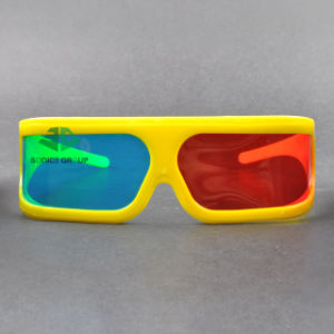 Plastic Cyan Red 3D Glasses (SN3D 016P)