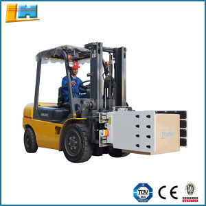 Industrial Equipment Hydraulic Forklift Attachment Tobacco Paper Carton Clamp