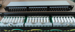 24 Port Cat5e/CAT6 FTP Patch Panel pictures & photos