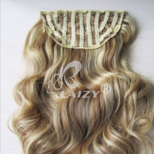 Hot-Selling Clip in Hair Extension Weft