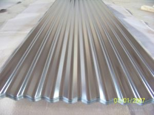 Corrugated Metal Roofing Sheet with Galvanized Material pictures & photos