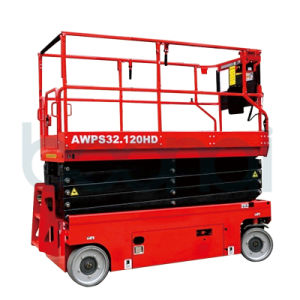Full Electric Scissor Lift for Building Maintenance/Two People pictures & photos