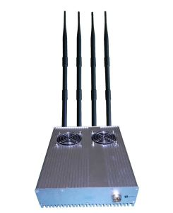 20W Powerful Desktop3g GPS Mobile Phone Jammer with Outer Detachable Power Supply (8324) pictures & photos