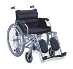 Functional Wheelchair Steel Wheelchair (Hz126-01-24) pictures & photos