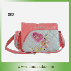 Garment Fabric Ladies Messenger Bag (WS13A147)