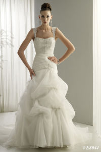 Splendid Informal Wedding Dress and Wedding Gown (vns-ifwd041-ve8044)