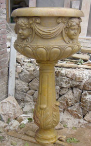 Marble Flowerpot & Vase, Marble Carving pictures & photos