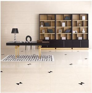 Yellow Line Stone Polished Poceilan Floor Tiles (LD6601)