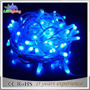 Waterproof PVC Wire Christmas Decoration 5mm LED String Lights pictures & photos