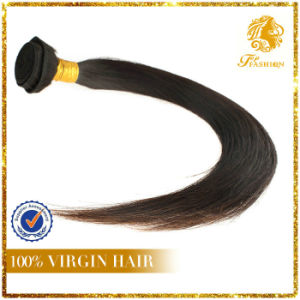India Virgin Remy Human Hair Silky Straight Hair Weft (B65) pictures & photos