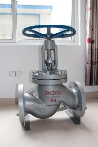 OS&Y Class150 Double Flange Carbon Steel Globe Valve pictures & photos