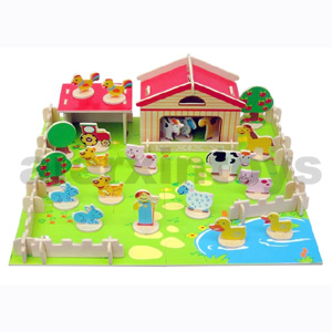 3D Wooden Farm Puzzle (81024) pictures & photos